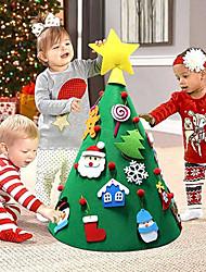Недорогие -Праздничные украшения Рождественский декор Новогодние ёлки / Рождественские украшения Декоративная Цветастый 1шт