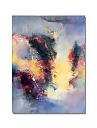 Недорогие -styledecor® современная ручная роспись абстрактной цветовой декоративной масляной живописи на холсте для настенного искусства, готовая повесить искусство