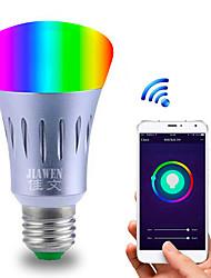 Недорогие -1шт 6 W 480 lm E26 / E27 Круглые LED лампы / Умная LED лампа 23 Светодиодные бусины SMD 5730 Smart / Контроль APP / синхронизация Multi-цветы 85-265 V / Диммируемая