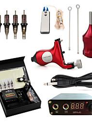 お買い得  -タトゥーマシン プロのタトゥーキット - 1 pcs タトゥーマシン, プロフェッショナル / 安全用具 / 簡単装着 アルミ合金 1 xライニングとシェーディング用ロータリー墨機械