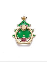 abordables -Bureau Support de support Christmas Santa Claus Phone Holder Ajustable / Rotation 360 ° Métal Titulaire