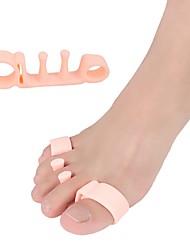 Недорогие -1 пара ортопедических силикагель Носок Весна Универсальные Белый / Телесный