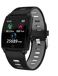 Недорогие -Indear R17 Умный браслет Android iOS Bluetooth Спорт Водонепроницаемый Пульсомер Измерение кровяного давления / Сенсорный экран / Израсходовано калорий / Длительное время ожидания / Педометр