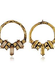 abordables -Femme Classique Boucles d'oreilles - Fleur Mode Or / Argent Pour Soirée Quotidien