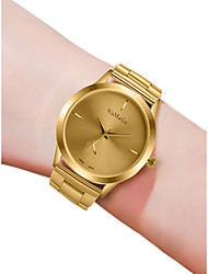 baratos -Mulheres Relógio de Pulso Quartzo Preta / Prata / Dourada 30 m Impermeável Novo Design Analógico senhoras Casual Fashion - Preto Prata Ouro Rose