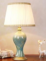 abordables -Moderne / Contemporain / Traditionnel / Classique Design nouveau / Décorative Lampe de Table Pour Chambre à coucher / Bureau / Bureau de maison Céramique 220V