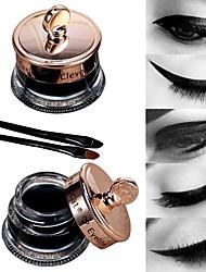 abordables -Eyeliner Kits / Facile à transporter Maquillage 1 pcs Liquide / Matériel mixte Œil / Maquillage Branché / Haute qualité Fête de Mariage / Usage quotidien / Bonbon seize Maquillage Quotidien
