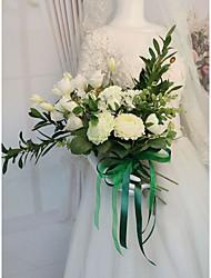 Недорогие -Свадебные цветы Букеты Свадьба / Для праздника / вечеринки Гербарий / Шелк 21-30 cm
