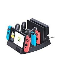 Недорогие -NGC Проводное Зарядные устройства Назначение Nintendo DS ,  Портативные / Творчество / Новый дизайн Зарядные устройства ПВХ 1 pcs Ед. изм