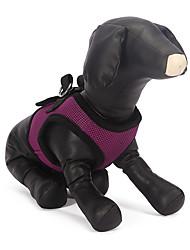 Недорогие -Собака Ремни Дышащий текстильный / Сетка Синий / Розовый / Камуфляж цвета
