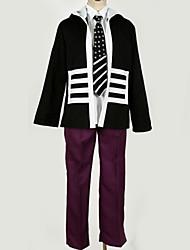 Недорогие -Вдохновлен Косплей Косплей Аниме Косплэй костюмы Японский Косплей Костюмы Английский Пальто / Кофты / Брюки Назначение Муж. / Жен.