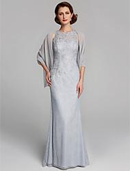 ราคาถูก -เสื้อไม่มีแขน ชิฟฟอน งานแต่งงาน / งานปาร์ตี้ / งานราตรี Women's Wrap กับ ไม่มีลาย ผ้าคลุมไหล่