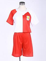 Недорогие -Вдохновлен Одиннадцать молний студент / Школьная форма Аниме Косплэй костюмы Японский Школьная форма Простой / Города Пальто / Шорты / Футболка Назначение Муж. / Жен.