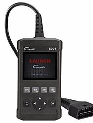 Недорогие -запуск creader cr5001 obd2 считыватель кода читать информацию об автомобиле диагностические инструменты car diy scanner так же, как autel