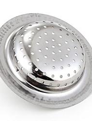 halpa -Keittiö Siivoustarvikkeet Ruostumaton teräs Sink Filter Tiukka istuvuus / Työkalut 1kpl