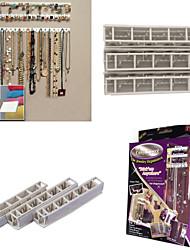Недорогие -9 в 1 bling eez клей крючки организатор ювелирных изделий крюк для хранения ювелирных изделий сочетание липкие крючки набор стикеров стены
