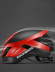Недорогие -ROCKBROS Взрослые Мотоциклетный шлем 26 Вентиляционные клапаны Сетка от насекомых Формованный с цельной оболочкой ESP+PC Виды спорта Велосипедный спорт / Велоспорт -