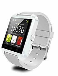 Недорогие -Для пары Спортивные часы Цифровой силиконовый Черный / Белый / Красный Bluetooth Календарь Секундомер Цифровой Мода - Белый Черный Красный / Пульт управления