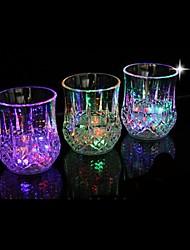 Недорогие -водить вспышка света виски выстрел пить стакан чашки мигающий пивной бар участник свадебный клуб украшение подарок