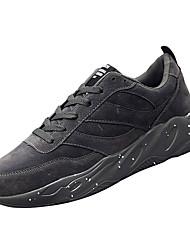 hesapli -Erkek Ayakkabı PU Kış Sportif Atletik Ayakkabılar Koşu Atletik için Siyah / Gri