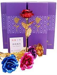 Недорогие -Искусственные Цветы 1 Филиал Классический Современный современный Традиционный Розы Букеты на стол