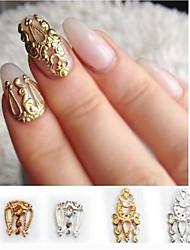 halpa -4 pcs Multi Function Ympäristöystävällinen materiaali Nail Jewelry Käyttötarkoitus Luova kynsitaide Manikyyri Pedikyyri Päivittäin Muoti