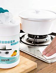 billige -Køkken Rengørings midler Ikke-vævet Rengøringsmiddel Simple / Værktøj 1pack