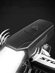 Недорогие -Светодиодная лампа Велосипедные фары Передняя фара для велосипеда Горные велосипеды Велоспорт Велоспорт Водонепроницаемый Осторожно! Быстросъемный Прочный AAA 1000 lm AAA-батарея Белый