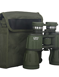 Недорогие -SEEKER 10 X 50 mm Бинокль Большой угол HD Полное покрытие BAK4 Ночное видение Алюминиевый сплав / Да