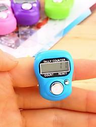 Недорогие -маркер стежка и счетчик строк жк-электронный цифровой счетчик счетчик случайный цвет