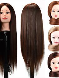Недорогие -Wig Accessories пластик Стенды для париков Отбеливатель Blonde Фиолетовый Синий