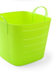 levne -Plastický Obdélníkový Nový design Domov Organizace, 1ks Skladovací koše