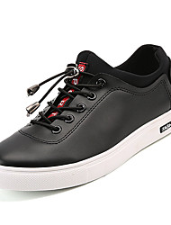 hesapli -Erkek Ayakkabı PU Kış Günlük Spor Ayakkabısı Günlük için Beyaz / Siyah
