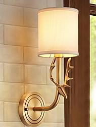 baratos -Legal Contemporâneo Moderno Luminárias de parede Quarto Metal Luz de parede 220-240V 40 W