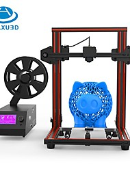 baratos -huaxu3d® x1 impressora 3d kit diy 220 * 270 * 300mm suporte a impressão de impressão off-line de impressão 1.75mm 0.4mm bico