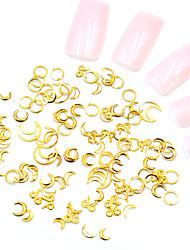halpa -Metalli Nail Jewelry Käyttötarkoitus Sormen kynsi Varpaan kynsi 3D-liitäntä / Erityisrakenne / Kulumisenkestävä Toteemisarja Korusarjat Romanttinen sarja kynsitaide Manikyyri Pedikyyri Makea / Muoti