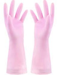 billige -Køkken Rengørings midler Gummi Handsker Liv 1set