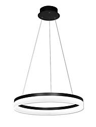 billiga -Cirkelrunda Hängande lampor Glödande Målad Finishes Metall Akryl LED 90-240V Varmt vit / Vit LED-ljuskälla ingår / Integrerad LED