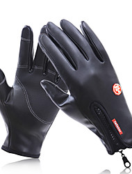 Недорогие -Полныйпалец Универсальные Мотоцикл перчатки Флокирование Сенсорный экран / Сохраняет тепло / Non Slip