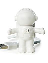 Недорогие -ywxlight® usb led регулируемый ночной свет новый стиль круто новый космонавт космонавт для компьютера пк лампа настольный светильник чистый белый