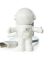 billige -YWXLIGHT® 1pc Astronaut USB Lys Mini Kreativ nyhet LED Lys