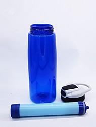 Недорогие -Портативные Фильтры для воды и очистители / чайник Фильтрация воды, Съемная, Экстренная ситуация для Отдых и Туризм / На открытом воздухе / Велосипедный спорт / Велоспорт -