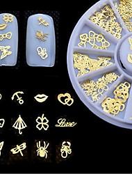 Недорогие -1 pcs Многофункциональный Экологичный материал Стразы для ногтей Назначение Креатив маникюр Маникюр педикюр Повседневные модный / Мода
