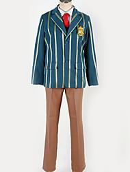 Недорогие -Вдохновлен Косплей Косплей Аниме Косплэй костюмы Японский Косплей Костюмы Английский / Современный стиль Пальто / Блузка / Кофты Назначение Муж. / Жен.