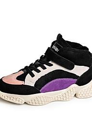 Недорогие -Девочки Обувь Синтетика Наступила зима Удобная обувь Спортивная обувь Для прогулок На липучках для Дети / Для подростков Синий / Розовый