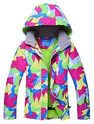 Недорогие -RIVIYELE Жен. Лыжная куртка Лыжи Катание на лыжах Чинлон Верхняя часть Одежда для катания на лыжах / Зима