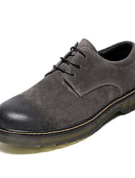 cheap -Men's Comfort Shoes Pigskin Spring &  Fall Oxfords Black / Coffee / Brown