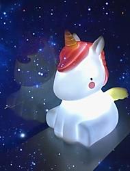 Недорогие -ночник новинка привел единорог лампы милые украшения ночник подарки рождественский праздник день рождения спальня декор