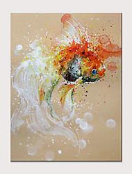 ราคาถูก -ภาพวาดสีน้ำมันแขวนทาสี มือวาด - แอ็ปสแต็ก งานศิลปะป๊อป ที่ทันสมัย โดยไม่ต้องภายในกรอบ