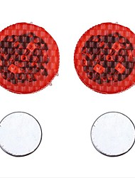 abordables -2pcs LED Night Light Rouge Détecteur Sécurité Urgence Ampoules LED pour voiture Accessoire auto Lampe de portière